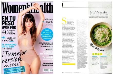 Bumpgreen en Women's Health - Enero 2018