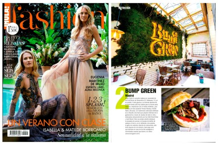 Bumpgreen en Hola! Fashion Junio 2017