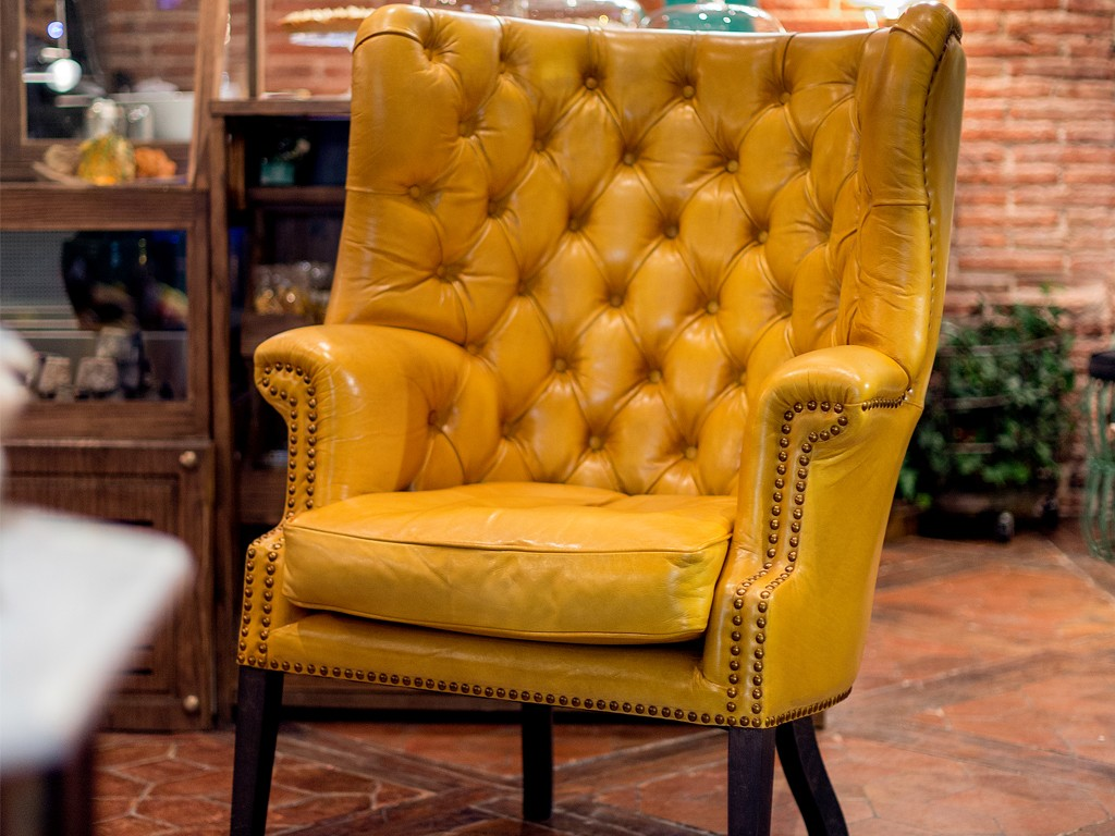 Espacio Bumpgreen Decoracion Sillon amarillo